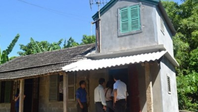 Trên 19.200 hộ nghèo đã được xây dựng nhà ở phòng, tránh bão, lụt