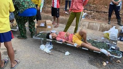 Hình ảnh đầu tiên nạn nhân vụ sạt lở ở Trà Leng