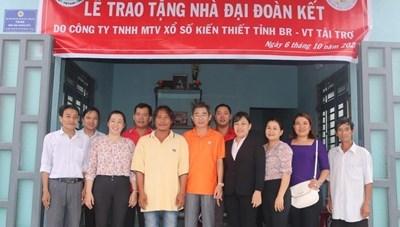 Thái Bình: Hỗ trợ xây dựng 172 nhà Đại đoàn kết
