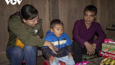 Ấm áp lớp mầm non 'nội trú' ở vùng cao Trịnh Tường