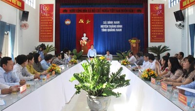 BẢN TIN MẶT TRẬN: Quảng Nam sớm phân bổ nguồn lực hỗ trợ cho người dân