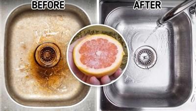 Làm sạch ngôi nhà của bạn với những thực phẩm có sẵn trong bếp