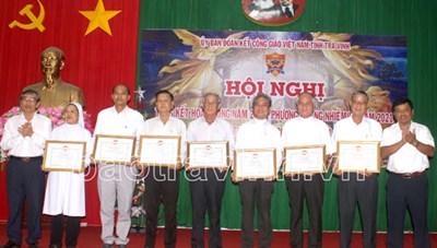 Hội nghị Ủy ban Đoàn kết Công giáo Việt Nam tỉnh Trà Vinh