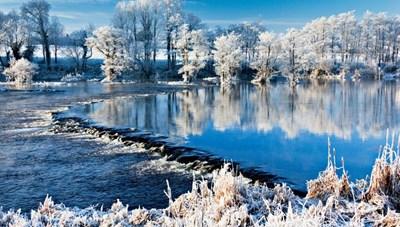 Cảnh đẹp mùa đông: Kỳ diệu như từ xứ sở thần tiên băng giá