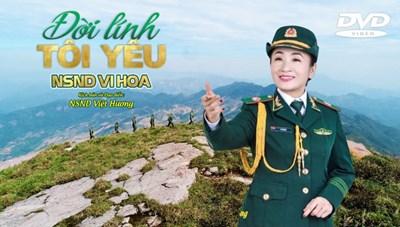 NSND Vi Hoa ra MV chia tay đời quân ngũ