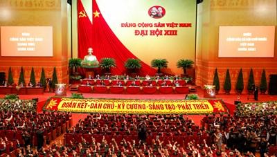 Bí thư Trung ương Đảng Trần Thanh Mẫn được bầu vào Đoàn Chủ tịch Đại hội XIII