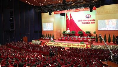 Đại hội Đảng lần thứ XIII: Hôm nay, các đoàn sẽ báo cáo danh sách ứng cử, đề cử