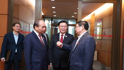 Ông Phạm Minh Chính được giới thiệu để bầu làm Thủ tướng