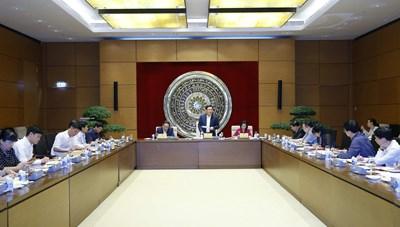 Chủ tịch Quốc hội làm việc với Ban Công tác đại biểu