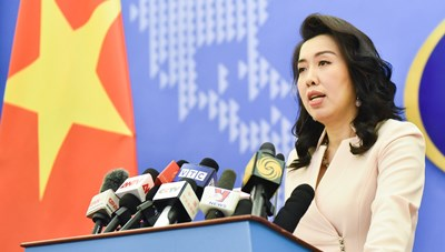 Việt Nam kiên quyết phản đối mọi hoạt động  của Trung Quốc ở Hoàng Sa, Trường Sa