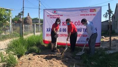 6 căn nhà chữ thập đỏ tặng tỉnh Quảng Ngãi