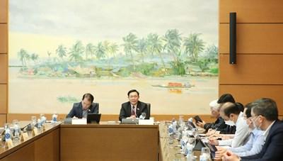 Chủ tịch Quốc hội :  Thí điểm cơ chế đặc thù vì mục tiêu quản trị quốc gia
