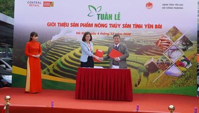 Nông, thủy sản tỉnh Yên Bái về Hà Nội