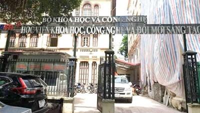 Phúc thẩm vụ 'đột nhiên thi trượt' ở Học viện KHCN & Đổi mới sáng tạo