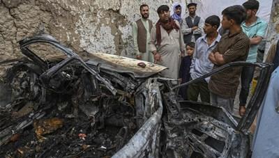 Mỹ thừa nhận không kích nhầm khiến 10 người Afghanistan chết oan