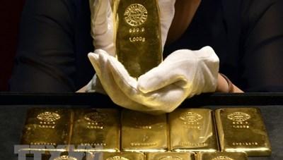 Giá vàng thế giới tăng trong phiên giao dịch ngày 24/9
