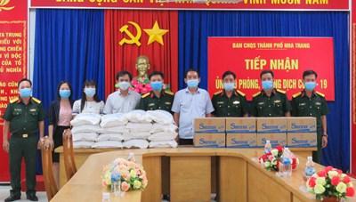 Yến sào Khánh Hòa trao gần 2 tỷ đồng chung tay phòng, chống dịch Covid-19