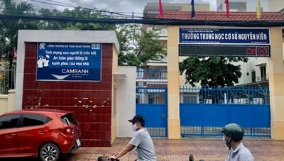 Khánh Hòa: Học sinh cấp 2, cấp 3 được trở lại trường học