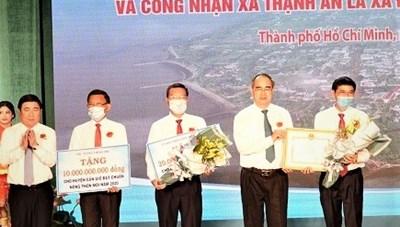 Chính thức công nhận Thạnh An, huyện Cần Giờ là xã đảo thuộc TP HCM