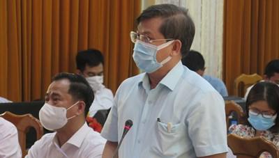 Viện trưởng Viện KSND tối cao Lê Minh Trí vận động bầu cử  tại TP Hồ Chí Minh