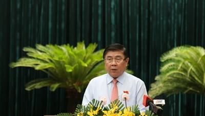 Ông Nguyễn Thành Phong cam kết gì khi tái đắc cử Chủ tịch UBND TP Hồ Chí Minh?