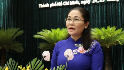 Bà Nguyễn Thị Lệ tái đắc cử Chủ tịch HĐND TP Hồ Chí Minh khóa X