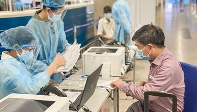 TP HCM dự kiến triển khai đợt tiêm chủng 1,1 triệu liều vaccine Covid-19