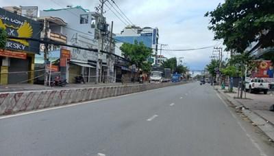 TP Hồ Chí Minh giảm 86% lưu lượng giao thông do dịch Covid-19