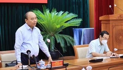 Chủ tịch nước: Quyết tâm cao nhất đưa TP HCM trở lại trạng thái bình thường mới