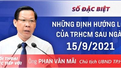 Ông Phan Văn Mãi: Cho phép vùng xanh thí điểm được bán hàng mang đi