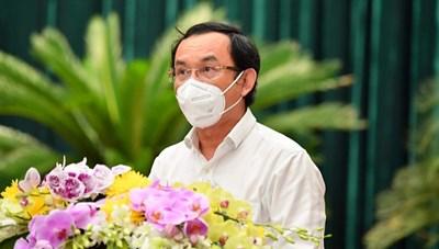 TP Hồ Chí Minh bàn việc vẽ lại bản đồ Covid-19
