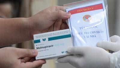 TP Hồ Chí Minh cấm bán thuốc Molnupiravir trái phép cho bệnh nhân Covid-19