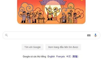 Google Tiếng Việt tôn vinh hoạt động sân khấu Cải Lương