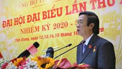 Ông Nguyễn Văn Danh tái cử Bí thư Tỉnh ủy Tiền Giang