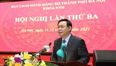 Ban Thường vụ Thành ủy Hà Nội sẽ có 24 phiên họp thường kỳ, đột xuất