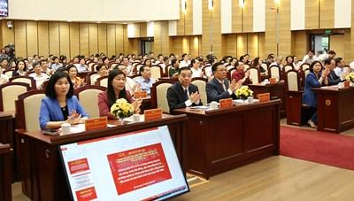 Hà Nội quán triệt 10 chương trình công tác lớn của Thành ủy khóa XVII