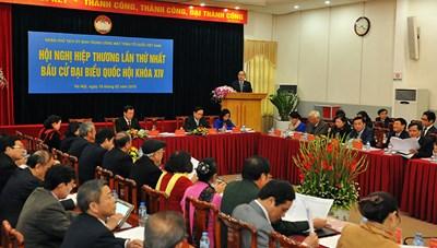 Thông tri hướng dẫn MTTQ Việt Nam tham gia công tác bầu cử