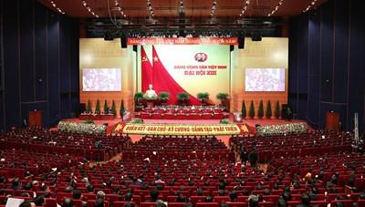 Sáng nay (1/2), bế mạc Đại hội XIII của Đảng