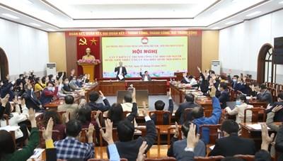 Giới thiệu ông Trần Thanh Mẫn và ông Hầu A Lềnh ứng cử đại biểu Quốc hội khóa XV