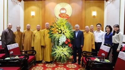 Các tôn giáo đồng hành cùng Mặt trận chăm lo cho nhân dân