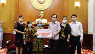 Góp phần cùng Đảng, Chính phủ mua vaccine tiêm phòng Covid-19 cho người dân