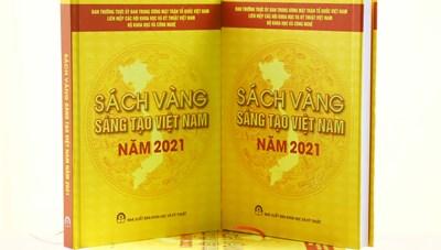 76 công trình, giải pháp tiêu biểu vinh danh trong Sách vàng Sáng tạo Việt Nam năm 2021