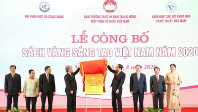 Sách vàng Sáng tạo Việt Nam năm 2021: Vinh danh 76 công trình, giải pháp tiêu biểu