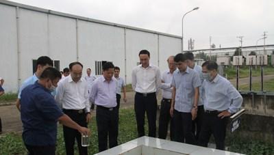 Giám sát về bảo vệ môi trường tại tỉnh Phú Thọ