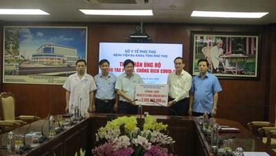 Quỹ Cứu trợ Trung ương hỗ trợ Phú Thọ 3 tỷ đồng phòng, chống dịch Covid-19