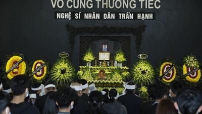 Tiễn biệt NSND Trần Hạnh