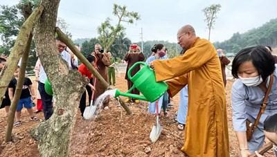Học viện Phật giáo Việt Nam hưởng ứng Tết trồng cây