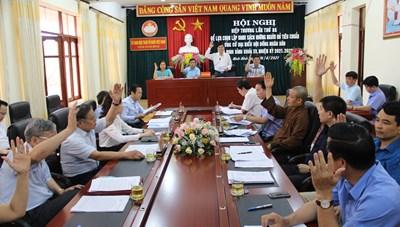 Ninh Bình: Phó Bí thư Huyện ủy Nho Quan rút khỏi danh sách ứng cử đại biểu Quốc hội