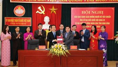 Ninh Bình: Giám sát chặt chẽ công tác tranh cử