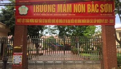 Ninh Bình: Cô giáo thuộc diện F1, 4 trường cho học sinh nghỉ học